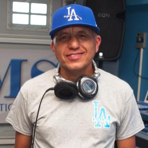 DJ Miles host of Takin Ya Back Tuesdays and Freaky Fridays.