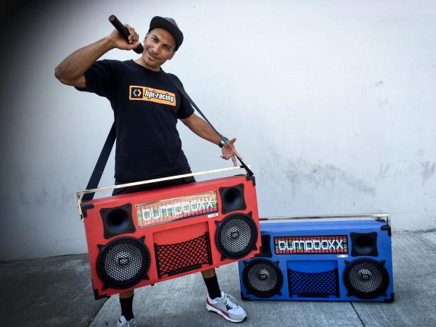 bumpboxx with mic