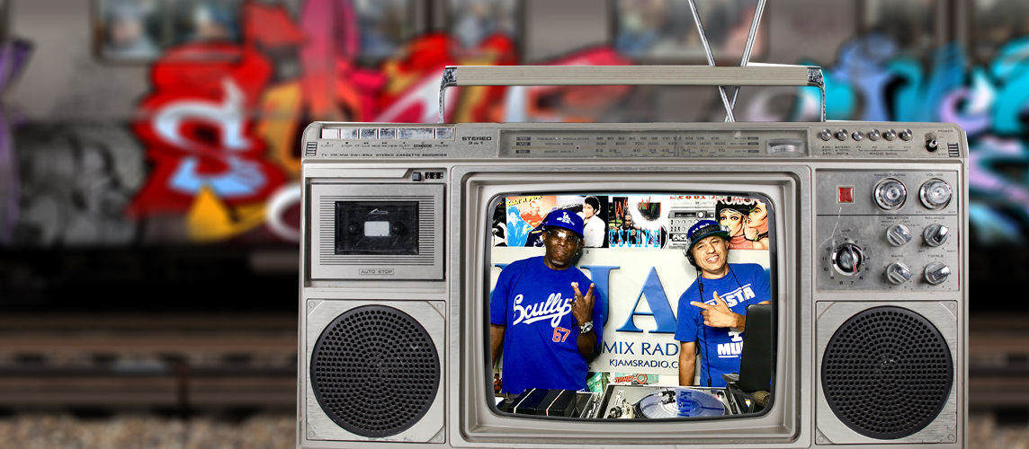 Boom Box Video Website Slide